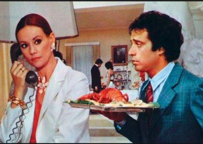 Aragosta a Colazione (1979). Insieme a Claudine Auger.