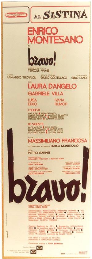 Bravo! (1981). Locandina.