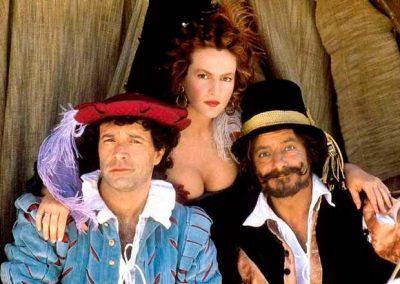 I picari (1987). Insieme a Giuliana De Sio e Giancarlo Giannini.