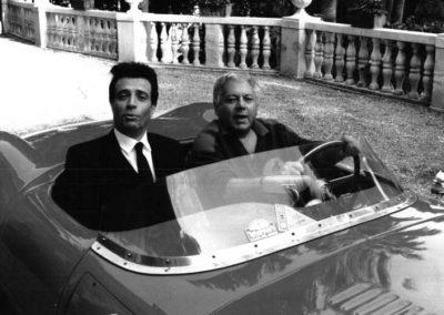 Il Volpone (1988). Insieme a Paolo Villaggio.