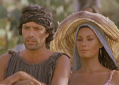 Il Ladrone (1980). Insieme ad Edwige Fenech.