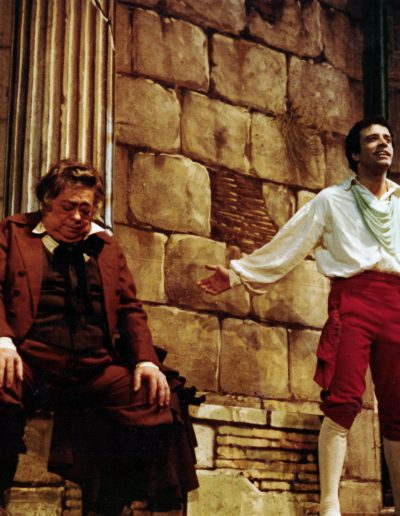 Rugantino (1978).  Insieme ad Aldo Fabrizi.