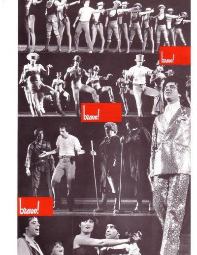Bravo! (1981). Foto tratta dal programma di sala.