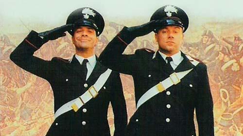 I due Carabinieri (1984). Insieme a Carlo Verdone.