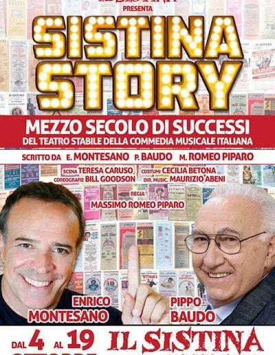 Sistina Story (2014). Locandina.