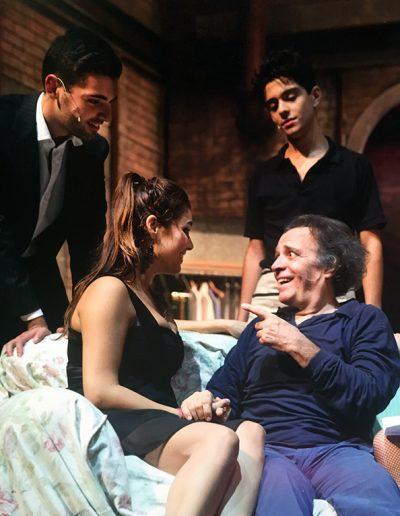 C'è qualche cosa in te (2015). Insieme a Michele Enrico Montesano, Marco Valerio Montesano e Ylenia Olivieri.