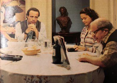 Pazza famiglia (1995). Insieme a Paolo panelli e Alessandra Bellini.