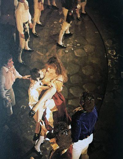 """Rugantino (1978). Alida Chelli in """"'Na botta e via""""."""