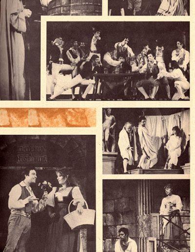 Rugantino (1978). Programma di sala.