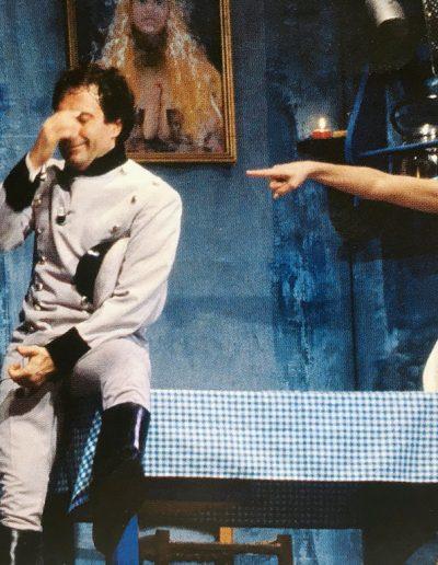 Se il tempo fosse un gambero (1986). Insieme a Nancy Brilli.