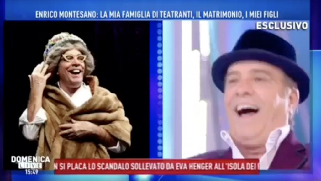 Enrico Montesano - Domenica Live