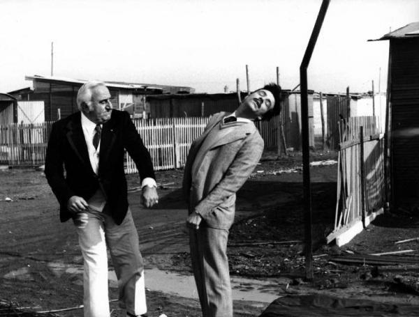 Le braghe del padrone (1978). Insieme ad Adolfo Celi.