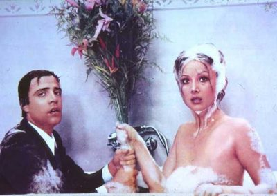 Amore vuol dire Gelosia (1975). Insieme a Barbara Bouchet.