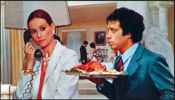 Aragosta a Colazione (1979), insieme a Claudine Auger