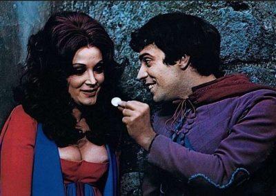 Boccaccio (1972). Insieme ad Isabella Biagini.