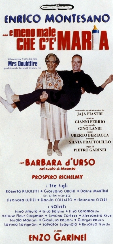 E meno male che c'è Maria (1999). Locandina.
