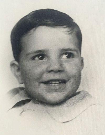 Enrico all'età di un anno circa.