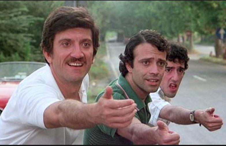 Febbre da Cavallo (1976), insieme a Gigi Proietti e Francesco De Rosa