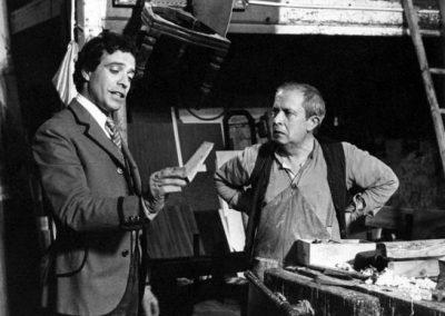 Il Conte Tacchia (1982). Insieme a Paolo Panelli.