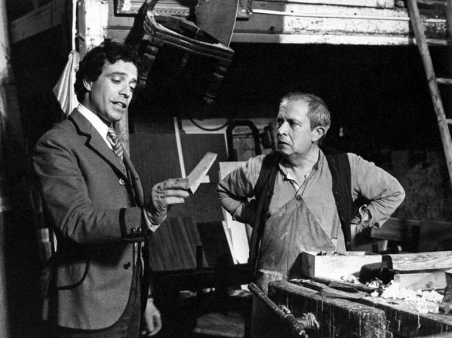 Il Conte Tacchia (1982). Insieme a Paolo Panelli