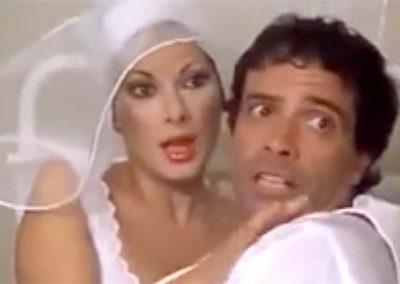 Il paramedico (1982). Insieme ad Edwige Fenech.