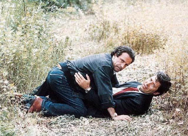 Caino e Caino (1993). Insieme ad Alessandro Benvenuti.