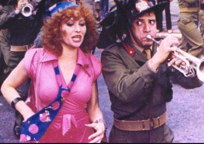 Io tigro, tu tigri, egli tigra (1978). Insieme a Erika Blanc.