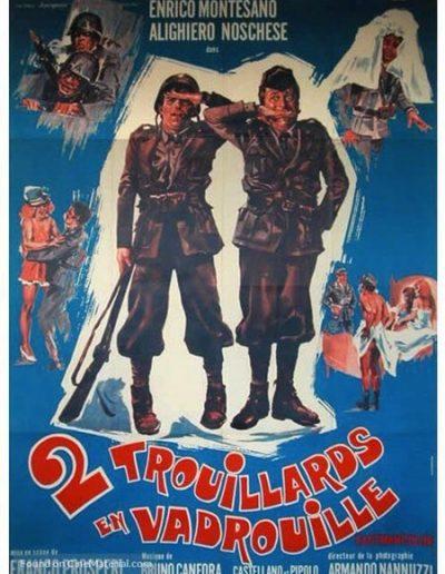 Io non scappo... fuggo (1970). Locandina francese.