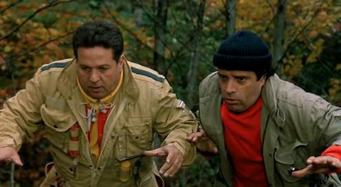 Noi uomini duri (1987), insieme a Renato Pozzetto