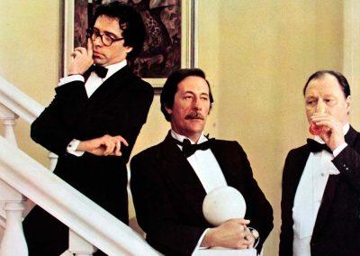 Odio le bionde (1980). Insieme con Jean Rochefort e Renato Mori.