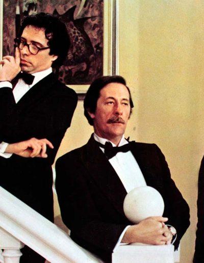 Odio le bionde (1980), insieme con Jean Rochefort e Renato Mori
