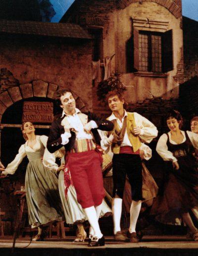 """Rugantino (1978). """"La ballata di Rugantino""""."""