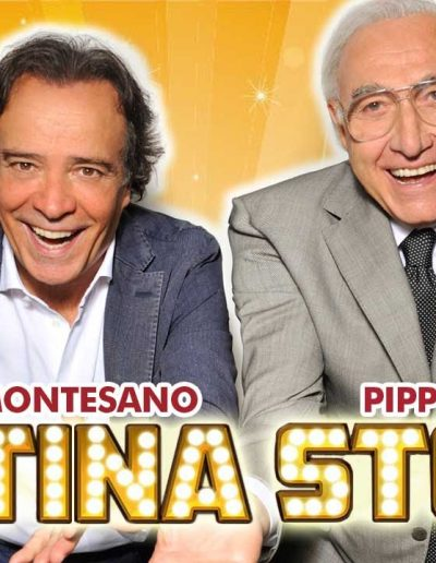 Sistina Story (2014). Insieme a Pippo Baudo.