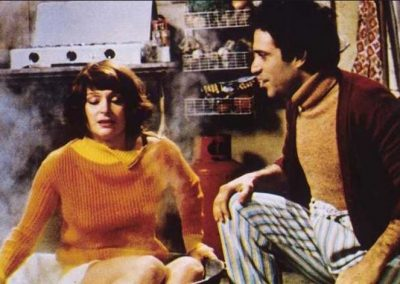 Stato interessante (1977). Insieme ad Adriana Asti.