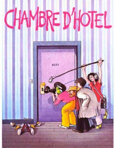 Camera d'albergo (1981), locandina francese