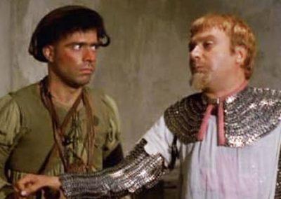 Il prode Anselmo e il suo scudiero (1972). Insieme ad Alighiero Noschese.