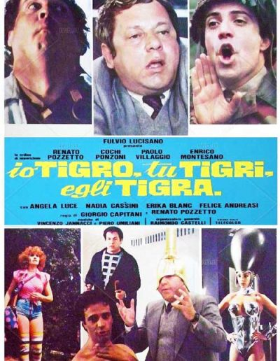 Io tigro, tu tigri, egli tigra (1978).