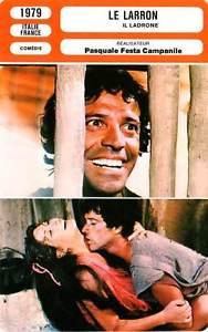 Il ladrone (1980). Locandina francese.