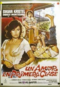 Un amore in prima classe (1980). Locandina spagnola.