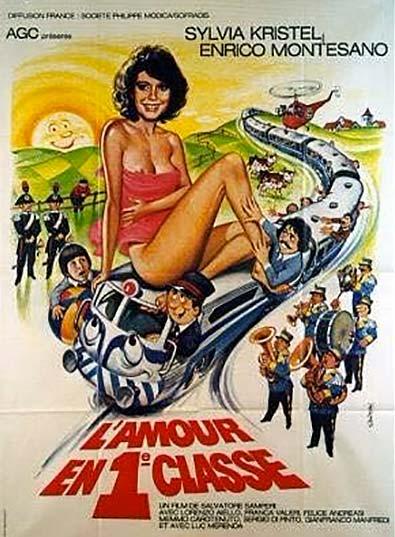 Un amore in prima classe (1980). Locandina francese.