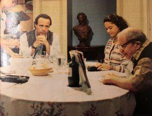 Pazza famiglia (1995-1996). Insieme a Paolo Panelli e Alessandra Bellini.