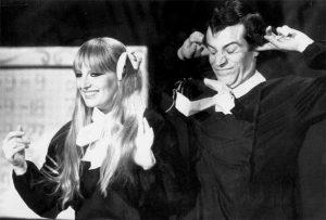 Gabriella Ferri con Enrico Montesano
