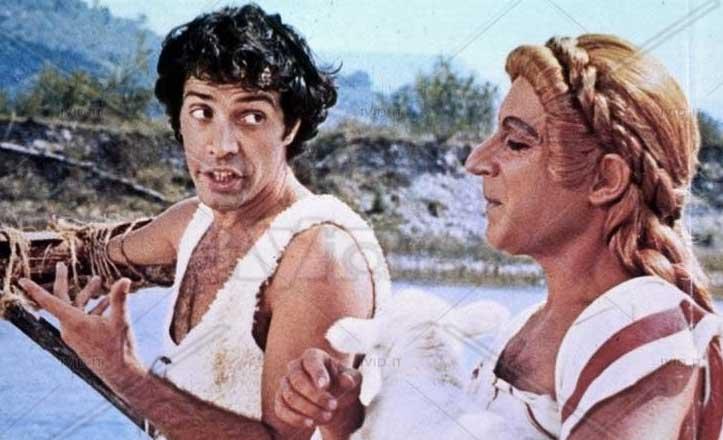 Remo e Romolo – Storia di due figli di una lupa (1976), insieme ad Oreste Lionello