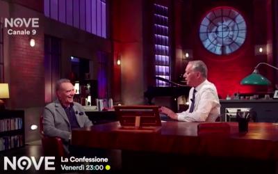 """Enrico Montesano intervistato da Peter Gomez a """"La Confessione"""" su Canale Nove – Vedi il video completo !"""
