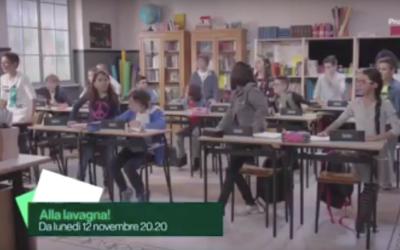 """Enrico Montesano ospite di """"Alla lavagna!"""""""