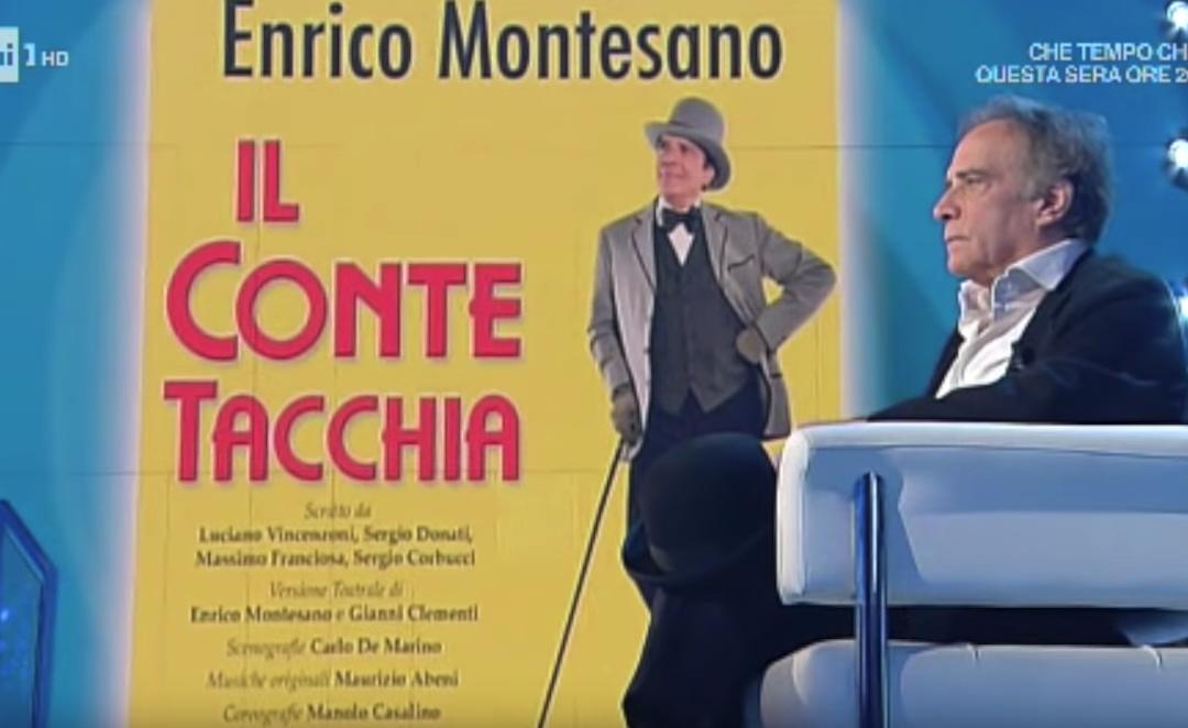 Enrico Montesano – Intervista a Domenica In